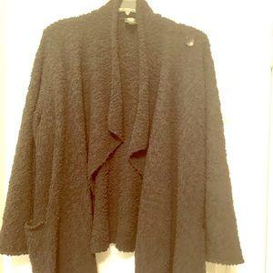 Bobeau Black Popcorn Sweater